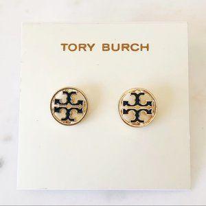 Tory Burch-signature earrings